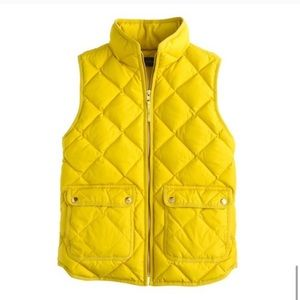 J.Crew Excursion Quilted Down Puffer Vest XXS